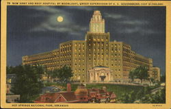 New Army And Navy Hospital By Moonlight