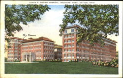 Edwin F. Brown Hospital, Soldiers Home