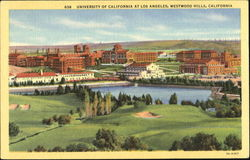University Of California At Los Angeles Westwood Hills