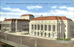 Opera House And Veteran's Memorial Building, Civic Center