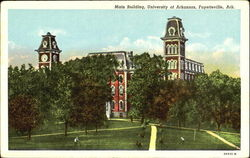 Main Building, University of Arkansas