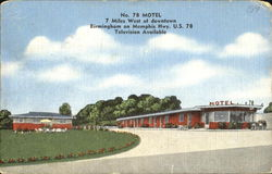 No. 78 Motel, Birmingham on Memphis Hwy. U. s. 78