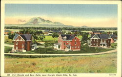 Fort Meade And Bear Butte