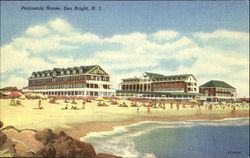 Peninsula House Postcard