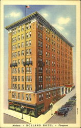 Holland Hotel Postcard