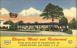 Bloyer's Motel, U. S. 40