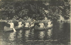 Canoeing, Camp Lenoloc