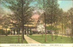 Johnston Hall Stony Brook Assembly And School Postcard