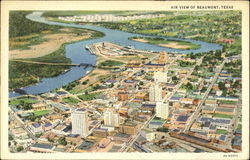 Air View Of Beaumont