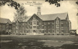 Whitney Hall, The University of Connecticut
