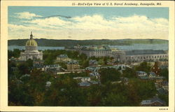 Bird's Eye View Of U. S. Naval Academy