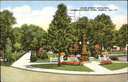 Main Street Entrance, Laura Bradley Park