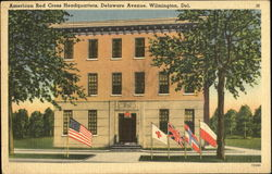 American Red Cross Headquarters, Delaware Avenue