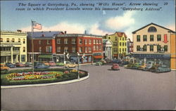 The Square At Gettysburg