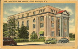 New Court House, Bnew Hanover County Postcard