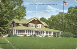 Marion County Club Postcard