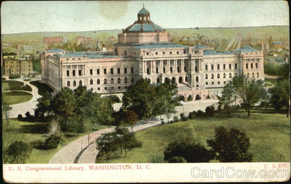 U. S. Congressional Library Washington District of Columbia