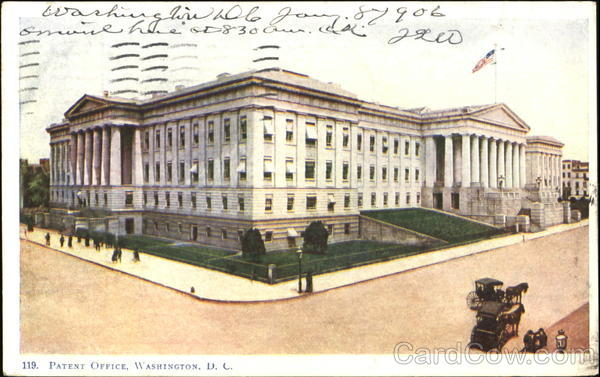 Patent Office Washington District of Columbia