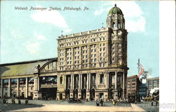 Wabash Passenger Station Pittsburgh Pennsylvania
