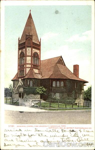 Memorial Chapel, Fisk University Nashville Tennessee