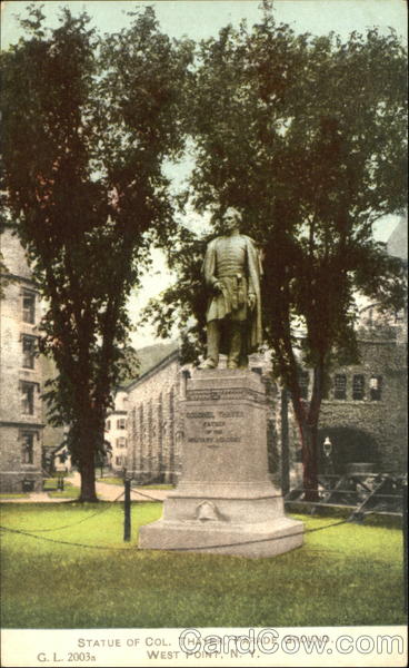 Statue Of Col. Thayer, Parade Ground West Point New York