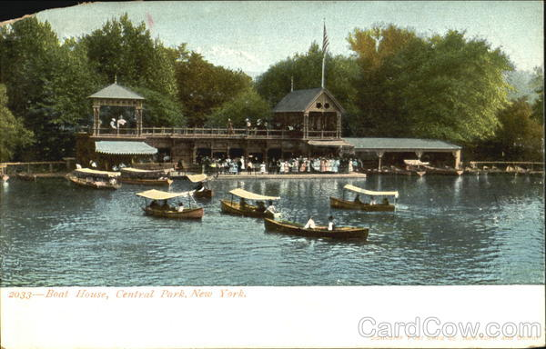 Boat House, Central Park New York