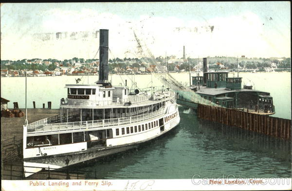 Public Landing And Ferry Slip New London Connecticut