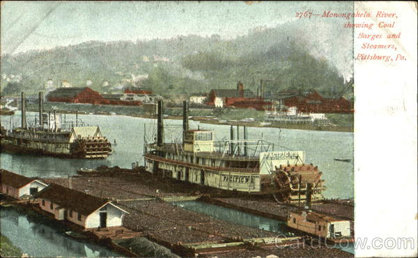 Monongahela River Pittsburg Pennsylvania