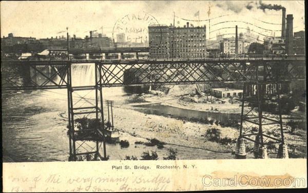 Platt St. Bridge Rochester New York