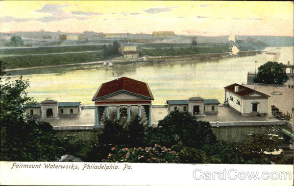 Fairmount Waterworks Philadelphia Pennsylvania