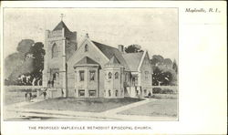The Proposed Mapleville Methodist Episcopal Church