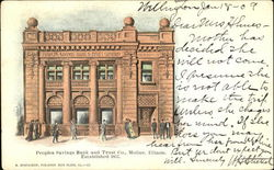 Peoples Savings Bank And Trust Co.