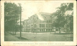 Galesburg High School And Tompkins Street