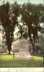 Statue Of Col. Thayer, Parade Ground