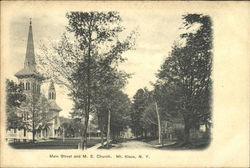 Main Street And M. E. Church