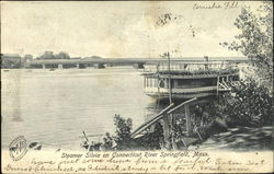 Steamer Silvia On Connecticut River