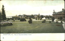 View Of Grounds-Soldiers Home