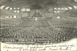 Interior Of The Auditorium