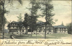 Stony Wold Sanatorium From Station, Lake Kushaqua
