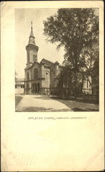 Appleton Chapel, Harvard University Postcard