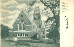 Memorial Hall, Harvard College Postcard