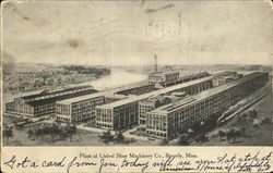 Plant Of United Shoe Machinery Co.