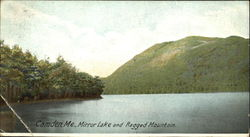 Mirror Lake And Ragged Mountain Postcard