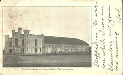 The Gymnasium, The University of Notre Dame
