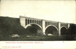 Concrete Arch Over Big Vermilion River