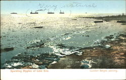 Sparkling Ripples Of Lake Erie Postcard