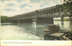 Girard Avenue Bridge And Schuylkill River