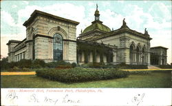 Memorial Hall, Fairmount Park