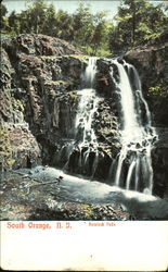 Black Rock Falls Postcard