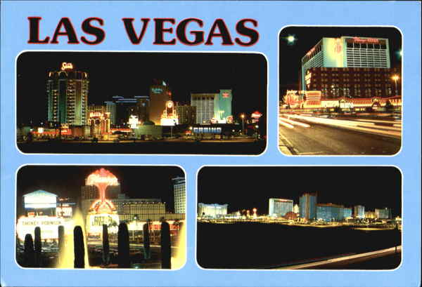 Scenic Views Of Las Vegas Strip Nevada